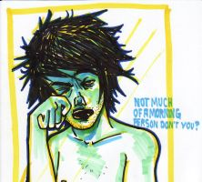 not a morning person by cephalopode