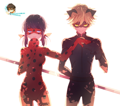 Miraculous Ladybug Render by Trinitor