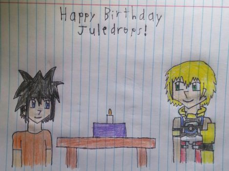 Happy (Late) Birthday Juledrops by Willy276