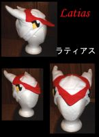 Latias hat with eyes by Gijinkacosplay