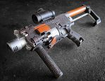 Nerf Barricade MP7 Mod by meandmunch