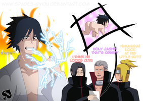 Look Out Itachi by spades-ryou