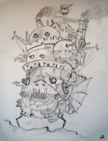 Howls Moving Castle II by maybe55