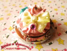 Kawaii bag holder - Polymer clay by Cupcakesarekawaii