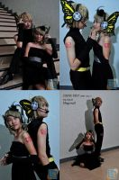 VOCALOID: Rin and Len by jycll