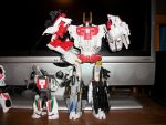 UW Aerialbots Superion Mode w/ Wheeljack by glazios