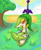 Jonke the Snivy by FairyJonke