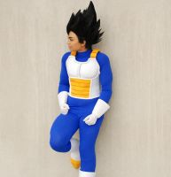 DBZ Cosplay - Vegeta by TechnoRanma