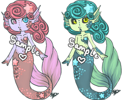 Mermaid Adoptable 2 - Closed by Kingdomkey
