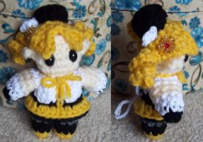 tiny Mami Tomoe amigurumi by BunnieBard
