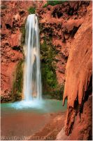 Mighty Mooney Falls by tourofnature