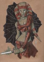 Brown Bag: Aayla Secura by Hodges-Art