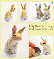 Bitty Blondie Bunny - SOLD by Bittythings