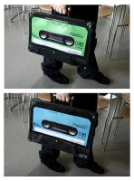 Customized briefcase by Minnu