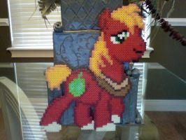 Large Perler Bead Art: Full Body Big Mac by Perler-Pony