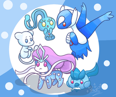 Blue Babies! by frostlie