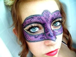 Venetian mask :D by Arisusandasu