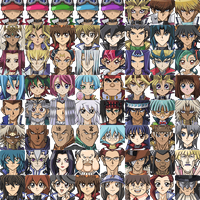 Yu-Gi-Oh! TAG FORCE SPECIAL SPRITES - CHARACTERS 1 by Spaminart