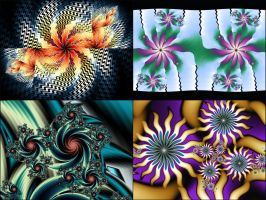 Framed Challenge Plug-in Coloring/Orbit Traps by beautifulchaos1