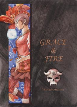 Grace and Fire COVER by VictoriaMelissa