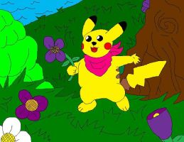 Pika the Pikachu by McGreger16