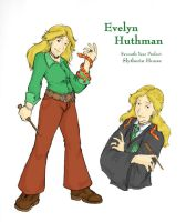 HP Contest: Evelyn Huthman by xanykaos