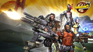 Borderlands 2 Wallpaper - Four Heroes by mentalmars