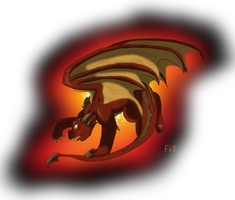 Smaug -REQUEST- by SuperSonicFireDragon