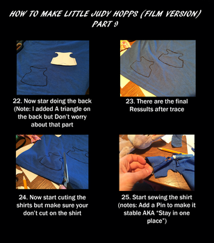 How to make Little Judy Film version part 9 by EJLightning007arts