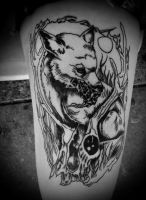 Latest Tattoo by ArcaneAffliction