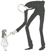 Slenderman by Raverect