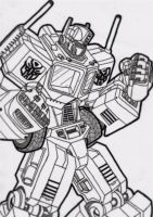 Optimus Prime by birdboy100