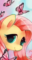 Fluttershy by Ra-Roo