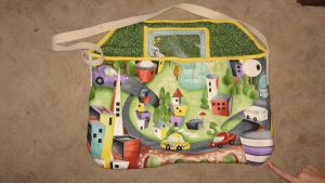 autotopia diaper bag by peaceocake