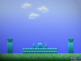 Zelda II: King's Tomb by BLUEamnesiac