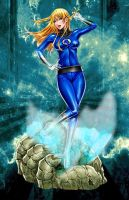 Sue Storm by DragonRose313