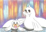 Pokemon # 86 and # 87 - Father and son by GoldenFalchion