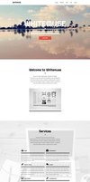 Whitemuse - One Page Muse Theme by styleWish