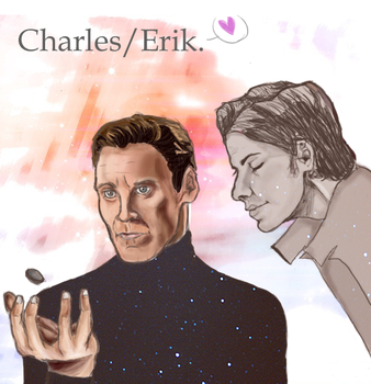 Charles and Erik by Tiixii