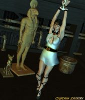 Isis among the Relics by CaptainZammo