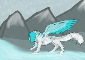 .:+Stand in the Rain+:. by PaperMutt