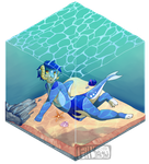 Boxed underwater by Fillyflight