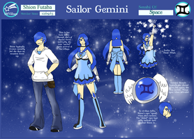 SMVillage Sailor Gemini App by Blue-and-Dog
