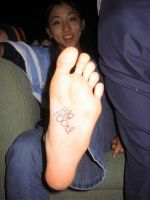 Asian Foot.. by Darthbane2007