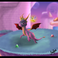 Spyro - Lofty Castles by xxMoonwish