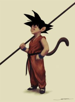 Son Goku by jameszapata