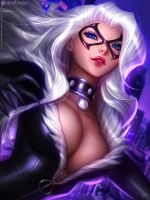 BLACK CAT by MichelleHoefener