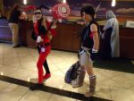 Harley Quinn and Yuffie Motaku 2013 by beCOSweCan-Snap