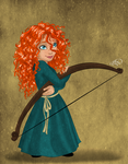 Little Merida by juliajm15