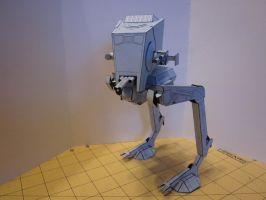 Papercraft  AT ST by enc86